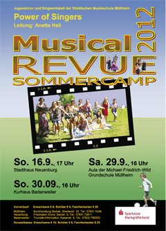 Musical Revue Sommercamp 2012